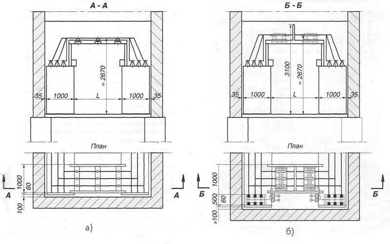 Рис. 2. Шинные мосты для КСО-366