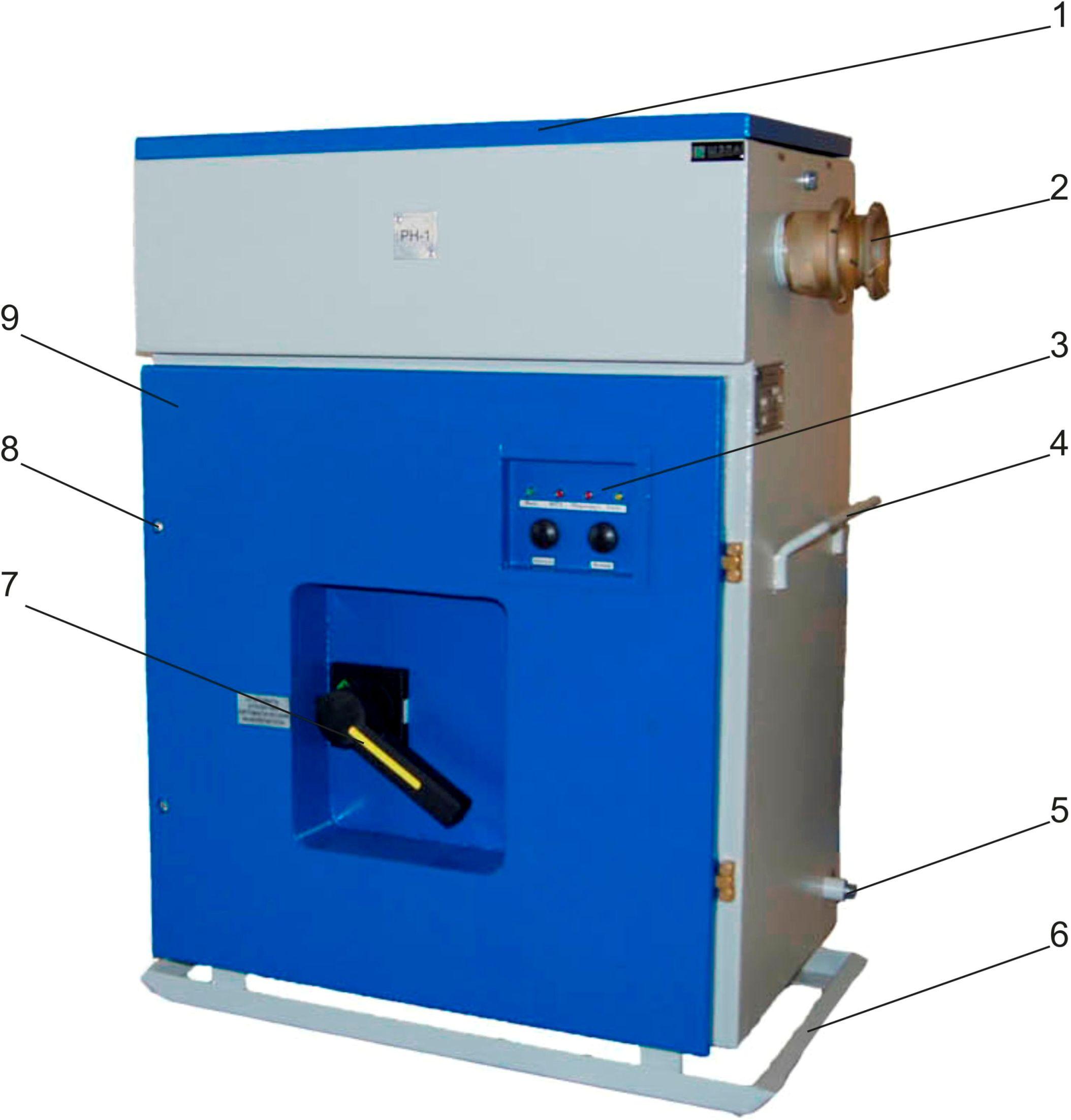 Выключатель рудничный типа ВАРП-500, ВАРП-1000