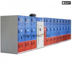 Комплект электрооборудования плавного пуска высоковольтных электродвигателей типа КППВЭ-6 6кВ 300А Вар.№2 УХЛ5 Исполнение РН1. Степень защиты IP54.