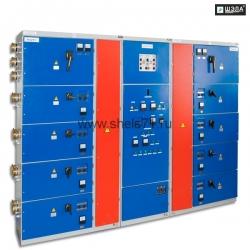 Модуль подземной подстанции МПП-2х1600 с АВР в составе: Шкафы распределительные рудничные ШР-ПП-РН-400÷1600А; Модуль универсального питания МУП-РН 2х63в составе Ш-АВР-2х63А;АОШ-1Ф-4,5кВА-660-380/220-127-36-24AC/DC; АОШ-5,0-3Ф-660-380/220-127-36В; АОШ-5,0-3Ф-660-380/220-127-36В.
