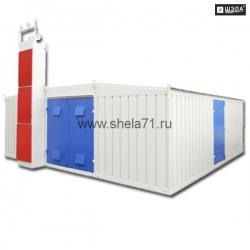 Комплектная трансформаторная подстанция наружной установки блочная из СЭНДВИЧ панелей типа КТПНУ-1600кВА 6(10)кВ УХЛ1
