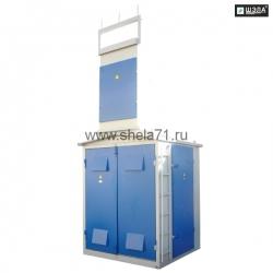 Комплектная трансформаторная подстанция киосковая типа КТП-160кВА 6(10)кВ УХЛ1