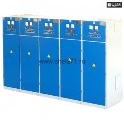 Комплект распределительных шкафов постоянного тока типа ШПТ-1000А 275В УХЛ5. Исполнение РН1. Степень защиты IP54.