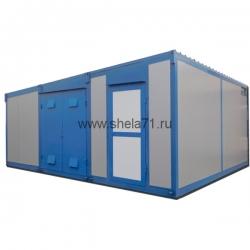 Комплектная трансформаторная подстанция наружной установки блочная из СЭНДВИЧ панелей типа КТПНУ-1000кВА 6(10)кВ УХЛ1