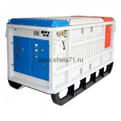 Комплектная трансформаторная подстанция рудничная типа КТП-РН-ПП-160-250-400-630кВА 6/0,4-0,69кВ УХЛ5 в комплекте с РУНН- 0,4-0,69кВ в корпусе повышенной прочности. Исполнение РН1. Степень защиты IP54.