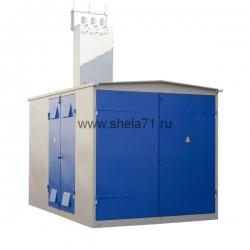 Комплектная трансформаторная подстанция киосковая типа КТП-630кВА 6(10)кВ УХЛ1