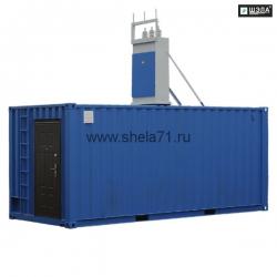 Комплектная трансформаторная подстанция контейнерного типа КТПК-630-1600кВА 6(10)/0,23-0,4-0,69кВ УХЛ5. Исполнение РН1. Степень защиты IP54.