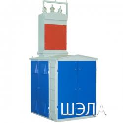 Передвижная комплектная трансформаторная подстанция карьерная типа ПКТПК-160кВА 6(10)/0,23-0,4-0,69кВ УХЛ5. Исполнение РН1. Степень защиты IP54.
