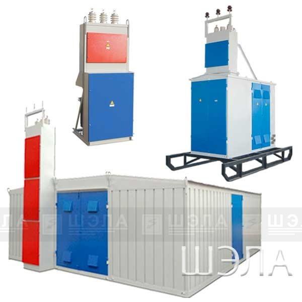 Комплектные трансформаторные подстанции КТП от 25 до 2500кВА напряжением 6(10)кВ