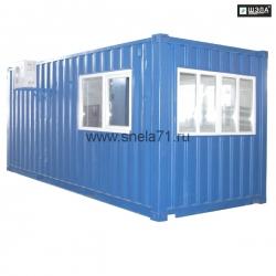 Блок-контейнер – кабина управления для автоматизации технологических процессов ПТС и ДСУ УХЛ5 Исполнение РН1. Степень защиты IP54.
