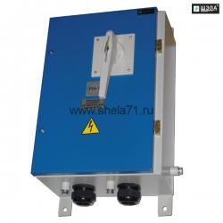Выключатель автоматический постоянного тока типа ВАРП-250, ВАРП-500 УХЛ5 Исполнение РН1. Степень защиты IP54.