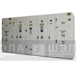 Комплект электрооборудования плавного пуска высоковольтных электродвигателей типа КППВЭ-6