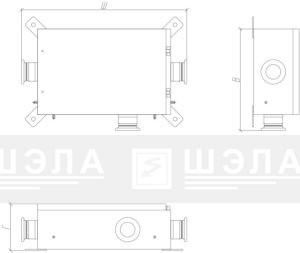 Вид КСР – 250 … 630 в стандартном исполнении (слева) и в корпусе повышенной прочности (справа).