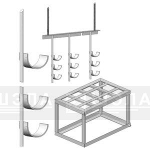 Металлоконструкции для монтажа оборудования и прокладки кабеля
