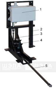 Механизм вертикального электропривода.