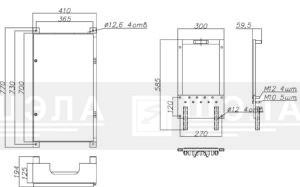 Ящик присоединения ЯП-500-У1