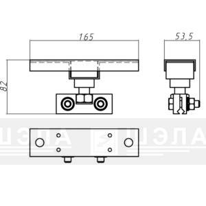 Троллеедержатель ТКП-1-У1