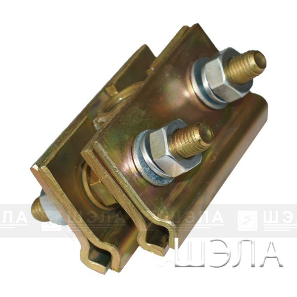 зажим контактного провода, 3-2КП