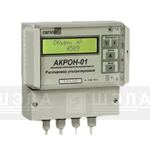 Расходомер ультразвуковой стационарный типа Акрон-01 с накладными датчиками производства ПНП «Сигнур»