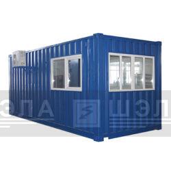 Исполнение блок-контейнеров и кабин управления