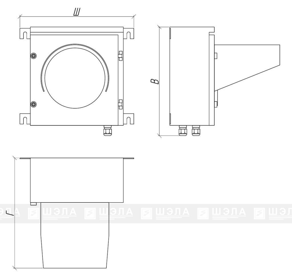 Блок светозвуковой сигнализации БС-200
