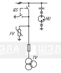 Трансформатор напряжения - ШЭЛА