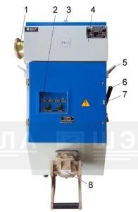 Рис.1 Общий вид ВР-250Р с разъёмом типа Proconnect.