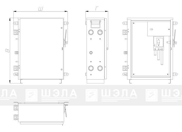 Пускатель ПРШ-10..63-EL - «ШЭЛА71»