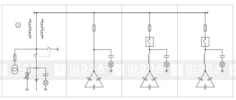 Установки конденсаторные компенсации реактивной мощности высоковольтные УКВ-РН-6(10) кВ